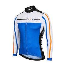Mieyco cycling jersey Man Long Sleeve Quick Dry Clothing MTB Bike Tops Wear Ropa Ciclismo Maillot Riding Shirt Cycling