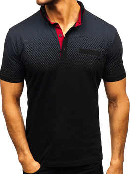 Brand men Summer short sleeve 3D print 95%cotton high quality Casual fashion polo shirt stand collar Button Male - DISCOUNT ITEM  40% OFF All Category