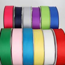 5Yards/Roll Grosgrain Satin Ribbons for Wedding Christmas Party Decorations DIY Bow Craft Ribbons Card Gifts Wrapping Supplies(China)