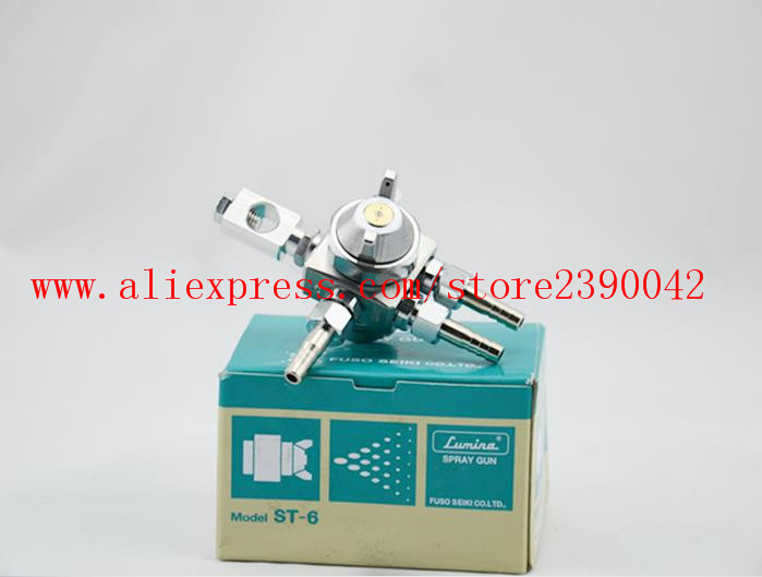 Lumina mini automatic spray gun ST-6, 0.5mm 1.0mm 1.3mm 2.0mm nozzle size/Spray Nozzle for Chocolate Rosin Spraying(ST-6)  цены