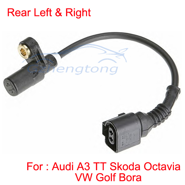 Top Quality ABS Wheel Speed Sensor Rear Left and Right Standard ALS418 1J0 927 807 D/0 986 594 008 1J0927807D MP-86807/4/5