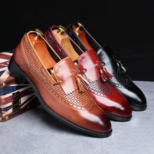 Men Shoes dress 2019 New Wedding Party Shoes Italian Casual