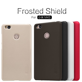 xiaomi mi4s Case NILLKIN Super Frosted Shield Back Cover For xiaomi mi4s mi 4s m4s Case mi4s Cover with Free Screen Protector