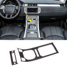 цена на Oak Wood Style ABS Center Console Gear Panel Decorative Cover Trim For Land Rover Range Rover Evoque 2013-2017 Car Accessories