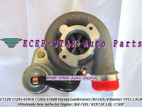 CT12B 17201 67040 17201 67040 1720167040 17201 67010 Turbo For TOYOTA HILUX KZN130 LANDCRUISER Prado 1KZ TE 1KZTE 4 RUNNER 3.0L