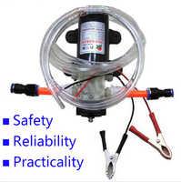 Professionale Elettrico 12 V Pompa olio pompa Olio Motore Diesel Extractor Trasferimento Combustibile di trasporto libero