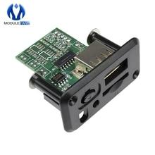 5V 7 12V מיני MP3 נגן מודול עם USB TF MP3 WAV Lossless פענוח Diy ערכת אלקטרוני PCB לוח מודול