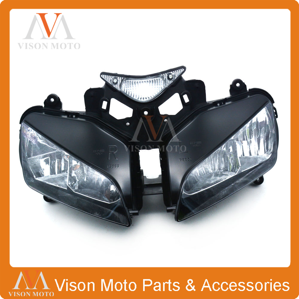 Motorcycle Front Light Headlight Head Lamp For HONDA CBR1000 CBR 1000 2004 2005 2006 2007 04 05 06 07 motorcycle fender eliminator led light tidy tail for honda cbr 600rr cbr600rr 2005 2006 cbr 1000rr cbr1000rr 2004 2005 2006 2007