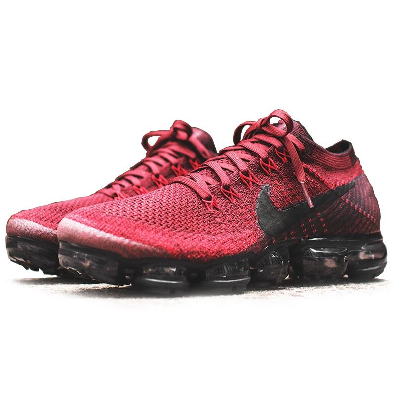 buy popular 19d32 350b0 Aliexpress.com  Comprar Original auténtico Nike Air VaporMax Flyknit  zapatillas para correr hombres transpirables Zapatillas de malla atlética  zapatos ...
