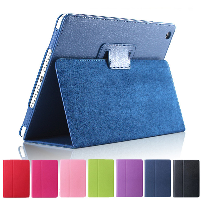 Case For Apple Ipad 234 PU Leather Stand Smart Case Cover For Ipad 2 Ipad 3 Ipad 4 Tablet Cases Protective Shell