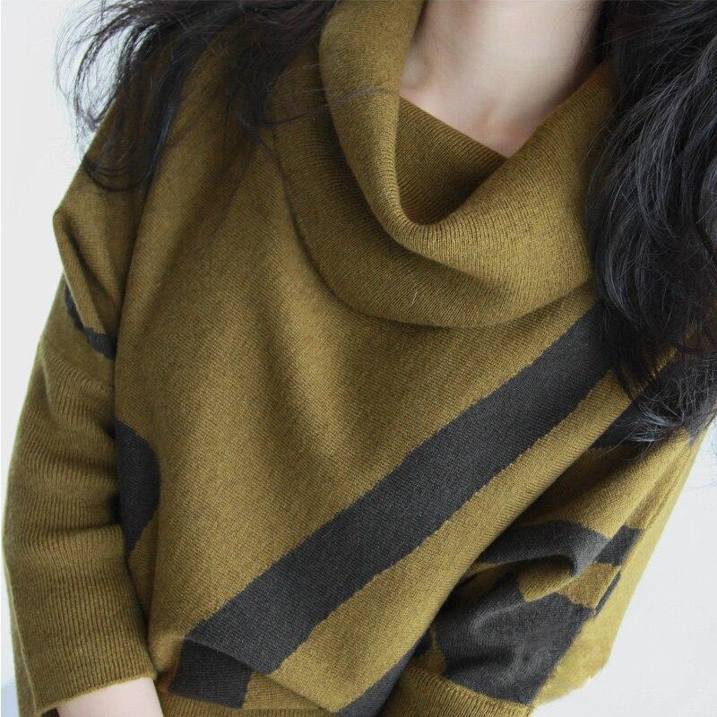 Correa Manga Knit Invierno Paquetes Nuevo Otoño Vestidos Delgada Cadera Libre 2 1 Señora Mujeres Sweater Vestido Cintura 3 Turtleneck Larga nIY7xYw