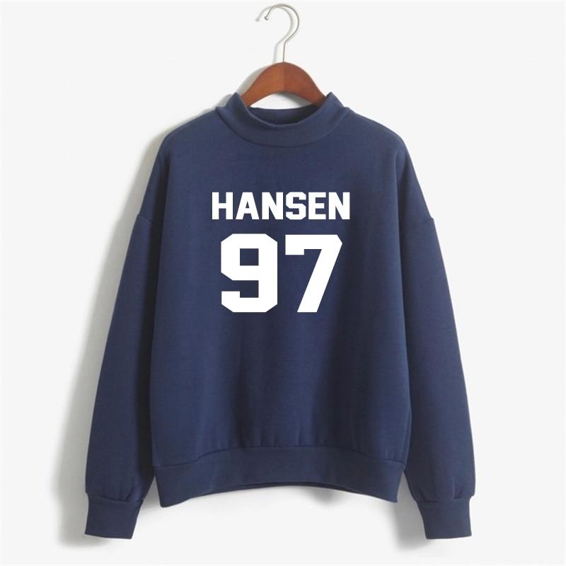Hansen 97 Sweatshirts Women Print Hoody Winter Casual Cotton Fleece Sweatshirt Women Plus Size Print Tracksuit Hoodies NSW-10638