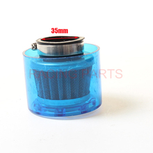 35mm WaterProof Air Filter fit 110/125cc Dirt Pit bike ATV Quad Go Kart monkey motorcycles Ail Free Shipping