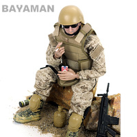 1/6 Soldiers model Scale Movable 6 Style Force Soldier Military Action Figure Dolls SWAT Soldier Super System Kids Gifts Toys