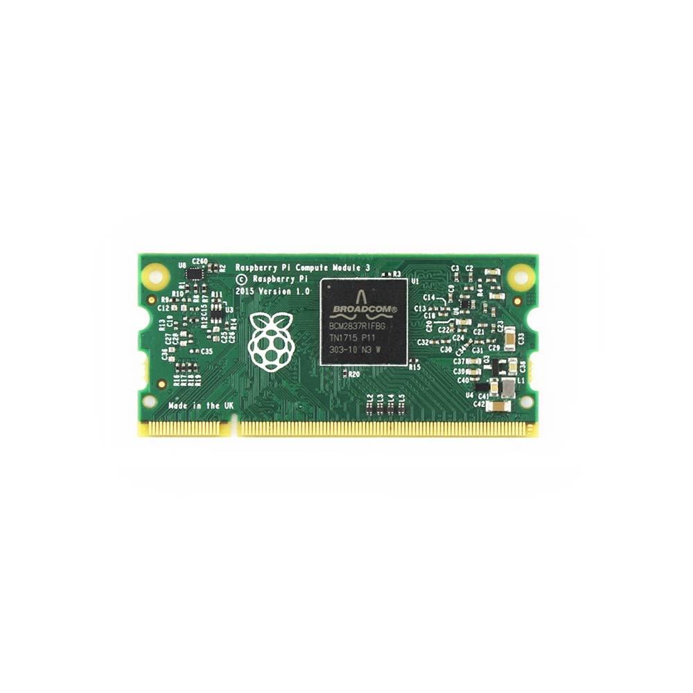 Raspberry Pi Compute Module 3 Lite BCM2837 64 bit 1 2GHz quad core ARM Cortex A53