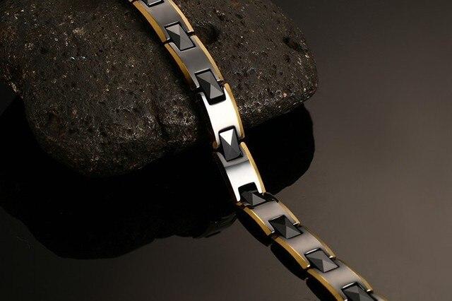 Фото 2020 лидер продаж мужские браслеты из керамики здоровые модные