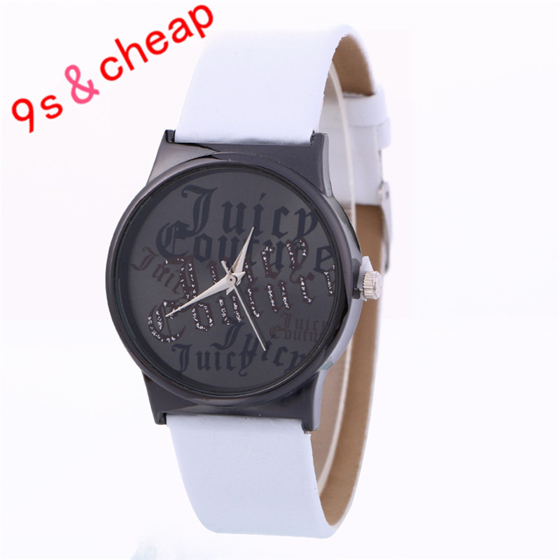 New Simple Fashion Neutral Leather Watch #3388 Brand New High Quality Luxury Free Shipping