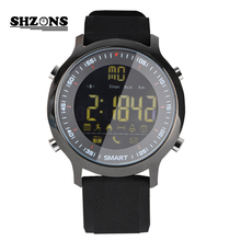 EX18 Smart Watch Bluetooth 4.0 Waterproof Activity Tracker Fitness Tracker Pedometer Phone Message Push Sports for Android IOS