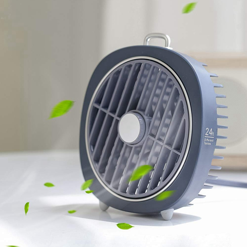 Image 5 - Personal Desk Fan Degree Rotation 3 Speeds Mini Size Desktop Table Protable Fan With Usb Rechargeable Powerful Wind Quiet Oper-in Fans from Consumer Electronics