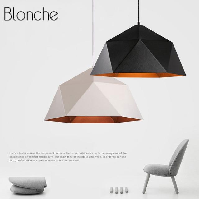 Modern Loft Pendant Lights Industrial Decor Iron Hanging Lamp for Kitchen Living Room Suspension Luminaire E27 Led Home Lighting