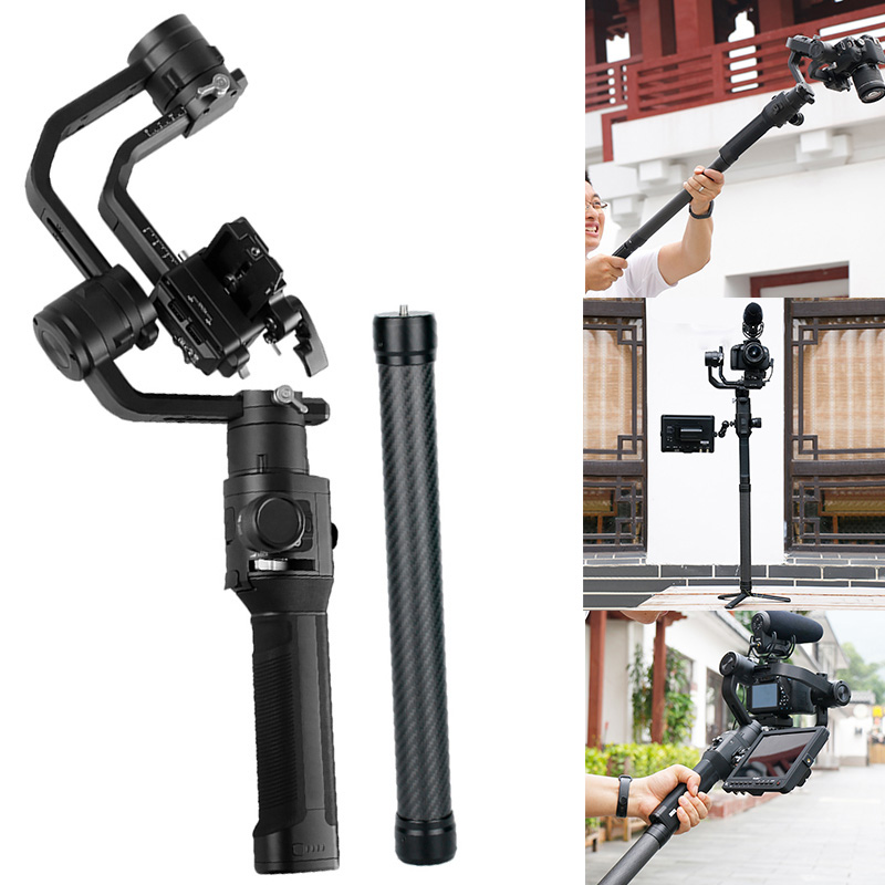 Handheld Telescopic Camera Gimbal Stabilizer Extension Selfie Stick Rod Holder GDeals title=