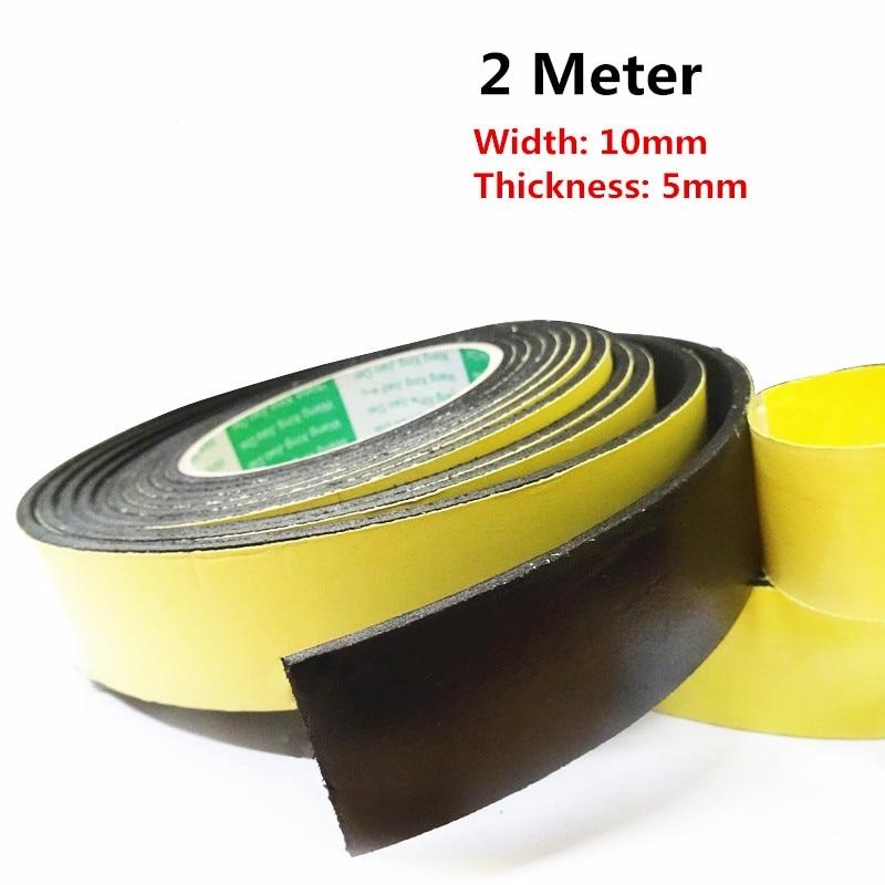 EVA single-sided foam tape buffer decompression shock sponge tape waterproof insulation soundproof crash strip 2M * 10mm * 5mm linhuipad touring single side headsets single earhook helmet 3 5mm mono plug cord 1 2m singapore post