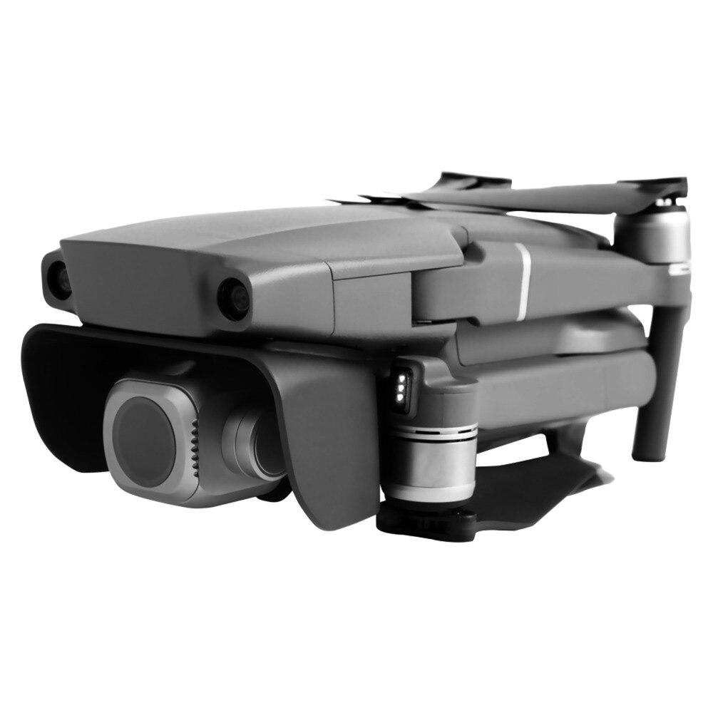 SUNNYLIFE Sun Shade Lens Hood Anti Glare Shield Protective Cap Cover For DJI Mavic 2 Pro Zoom Drone Gimbal Camera Protector Case