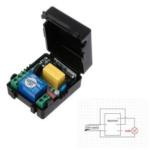 Image 2 - AC 220V 10A 1CH RF 433 315mhz のワイヤレスリモートコントロールスイッチ受信機モジュール + トランスミッターキットインテリジェントホーム