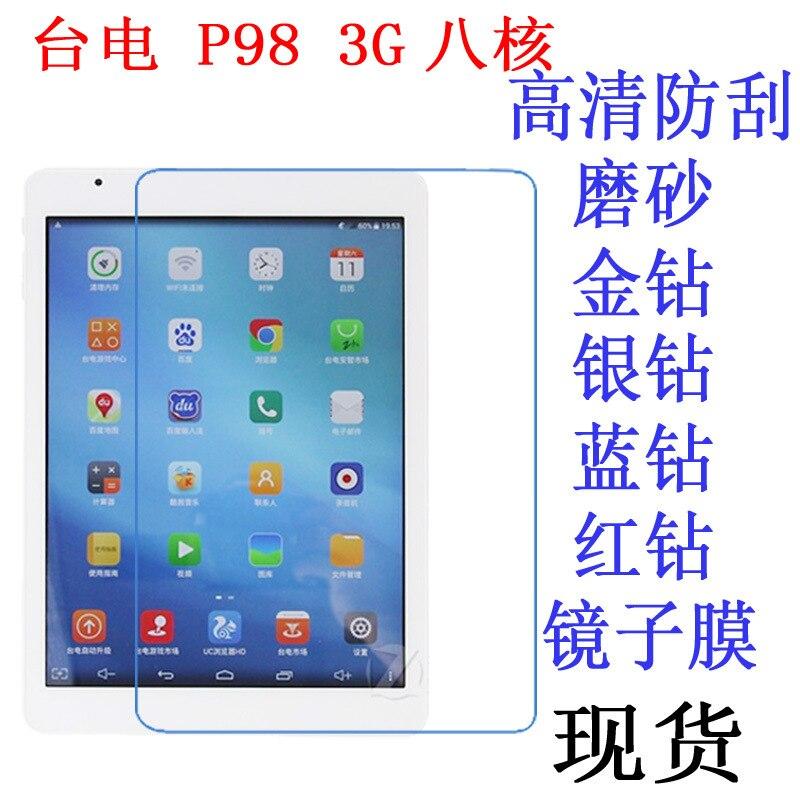 Tablet-display-schutzfolien Hell Ultra Clear Displayschutzfolie Anti-fingerprint Weiche Schutzfolie Für Teclast P98 3g 9,7 Zoll Tablet Strukturelle Behinderungen