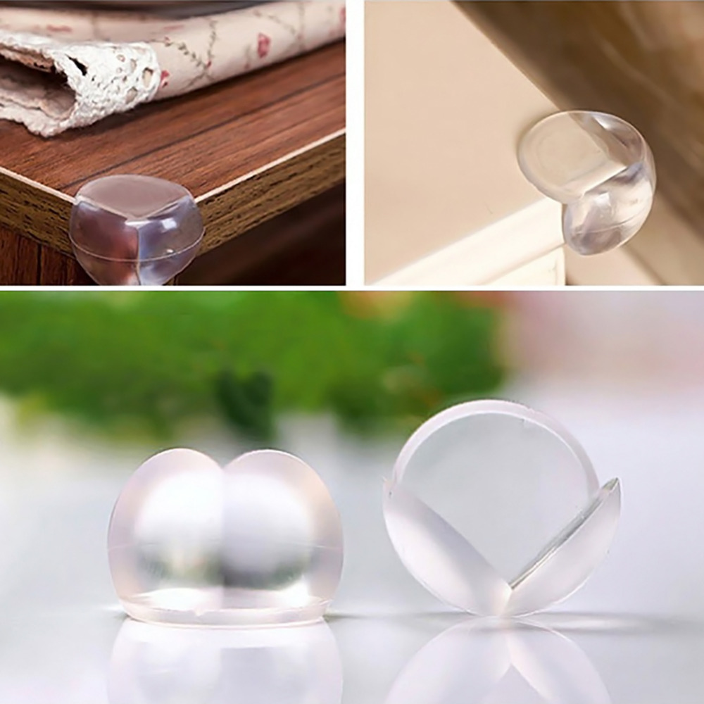 10pcs Transparent Child Baby Safety Tables Desk Corner Edges Protector Cover UP