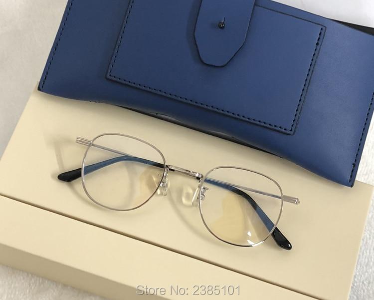 Eyewear Titanium Glasses Frame Gentle brand Men Eyeglasses Computer Optical Prescription Reading Clear Eye Lens male Spectacle