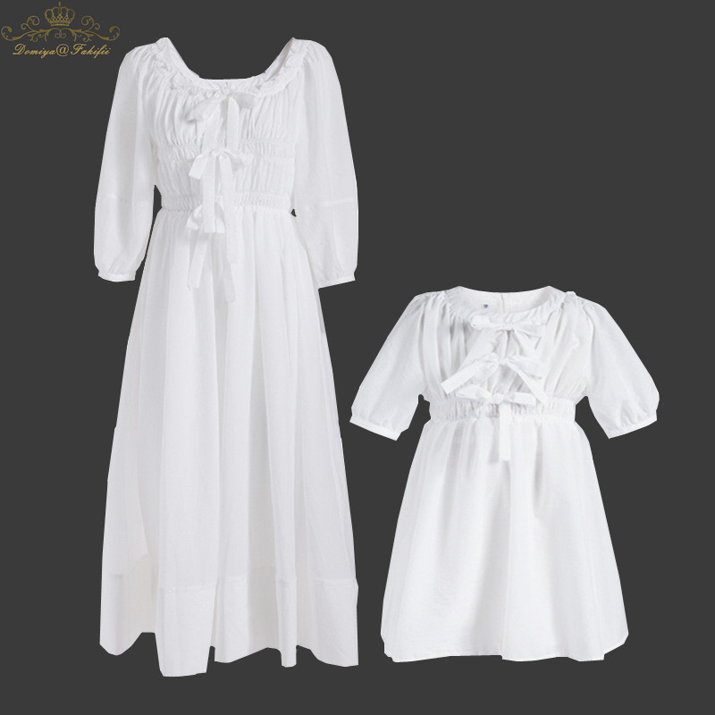 2018 Summer Girls Clothes White Party Dress for Girls Kids Ruffles Dress European style Children Dresses For Wedding Kids Wear dresses for girls high quality children dress long sleeve kids clothes summer dress flower girls dresses for party and wedding
