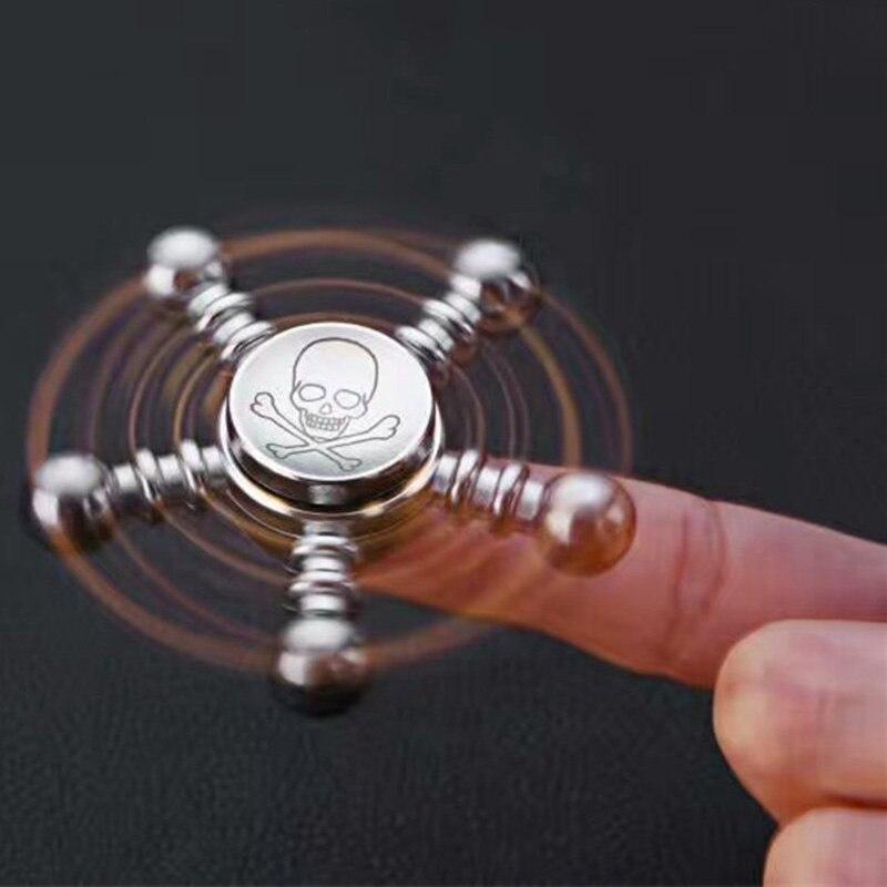 2017 Stress Wheel Hand Spiner EDC Fidget Spinner Custom Bearing Fidget Toys Pirate Style Custom Bearing