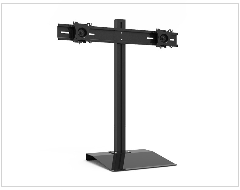 Full Rotation 15-27 Dual Screen Monitor Holder LCD TV Mount Desktop Stand Base S031A full rotation 15 27 dual screen monitor holder lcd tv mount desktop stand base s031