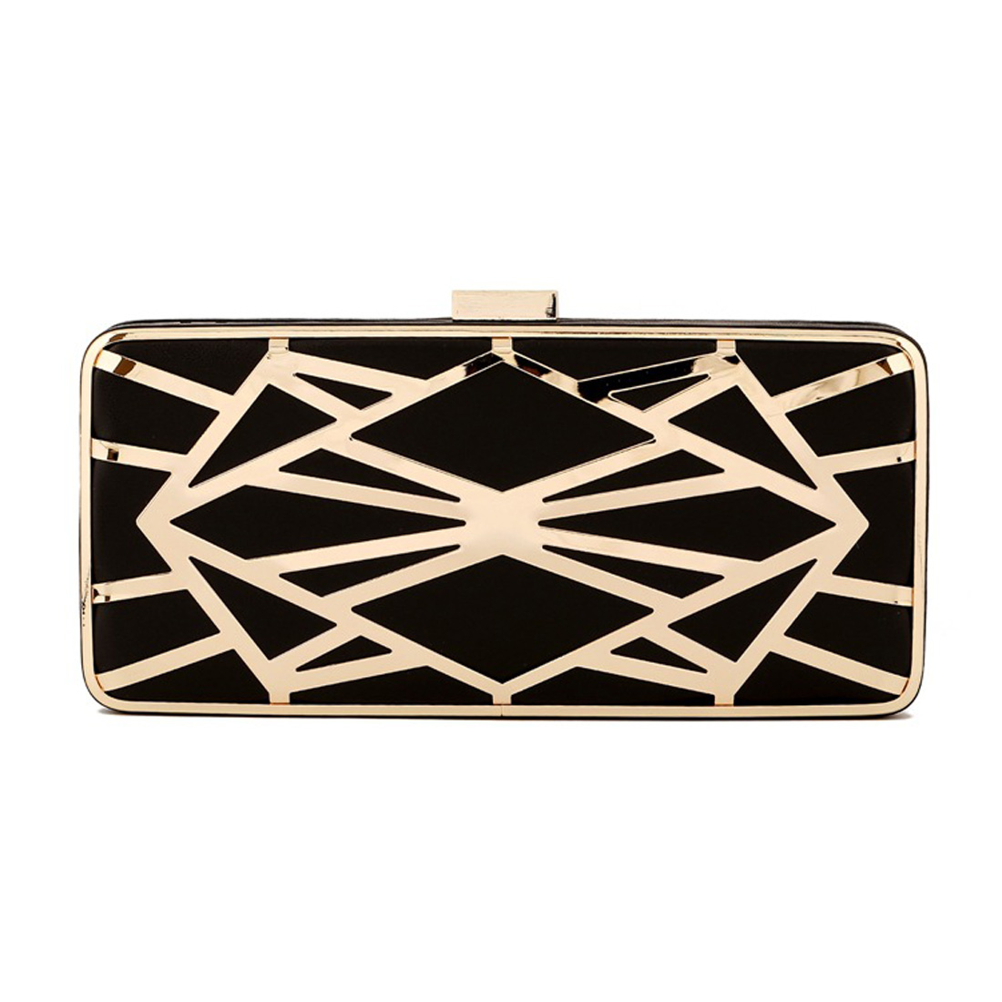 acb42a7c32b3 Hot ! Fashion Women hollow out Evening Bag Metal weave Wedding Bridal Party  Purse Day Clutches ladies Chains Handbags -in Top-Handle Bags from Luggage  ...