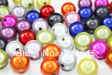 Freeshipping!200pcs/10mm Colored Round Deep Blue Acrylic Beads Jewelry For & Necklace Findings