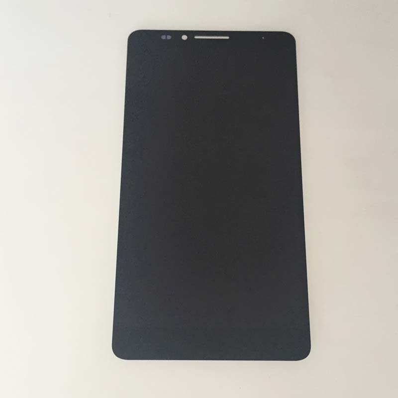 New Black Touch Digitizer Glass LCD Display Screen Assembly Part For Huawei Mate 7 MT7 Replacement replacement original touch screen lcd display assembly framefor huawei ascend p7 freeshipping