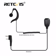 New Retevis C type earpiece Walkie Talkie Headset For Retevis RT23 Two Way Radio J9122A