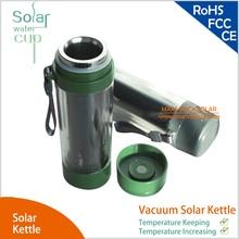 Нержавеющий вакуумный Солнечный чайник Вакуумная чашка для сохранения температуры и повышения температуры модная чашка для воды