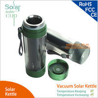 Stainless Vacuum Solar Kettle Vacuum Cup Temperature Keeping And Temperature Increasing Fashion Water Cup