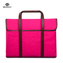 Business Men Handbag Laptop Briefcase Sleeve Unisex Canvas For MacBook Air Bolsa Para Laptop Gearmax 14 Inch Laptop 13″ Case Bag