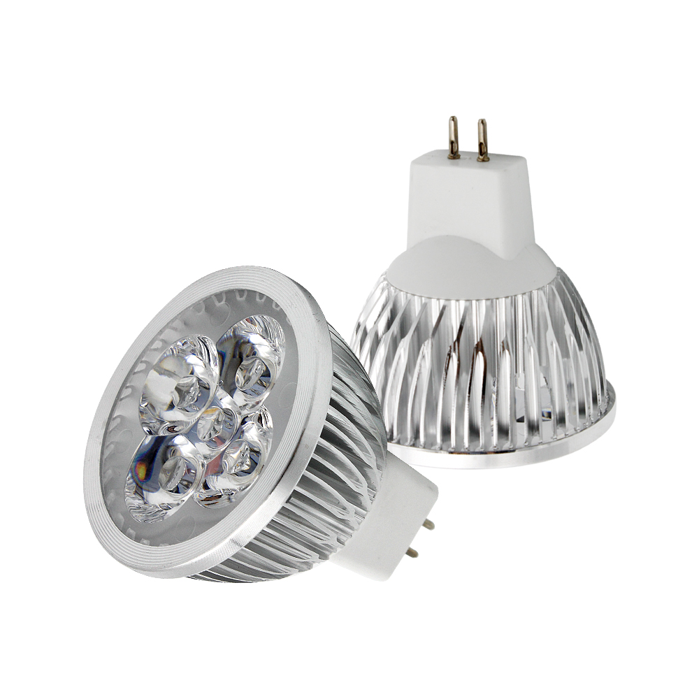A lâmpada conduzida da c.a. 12 v lampada conduziu o spotlight downlight quente/branco frio 1 pces pode ser escurecido mr16 conduziu a base 9 w 12 w 15 da lâmpada do bulbo