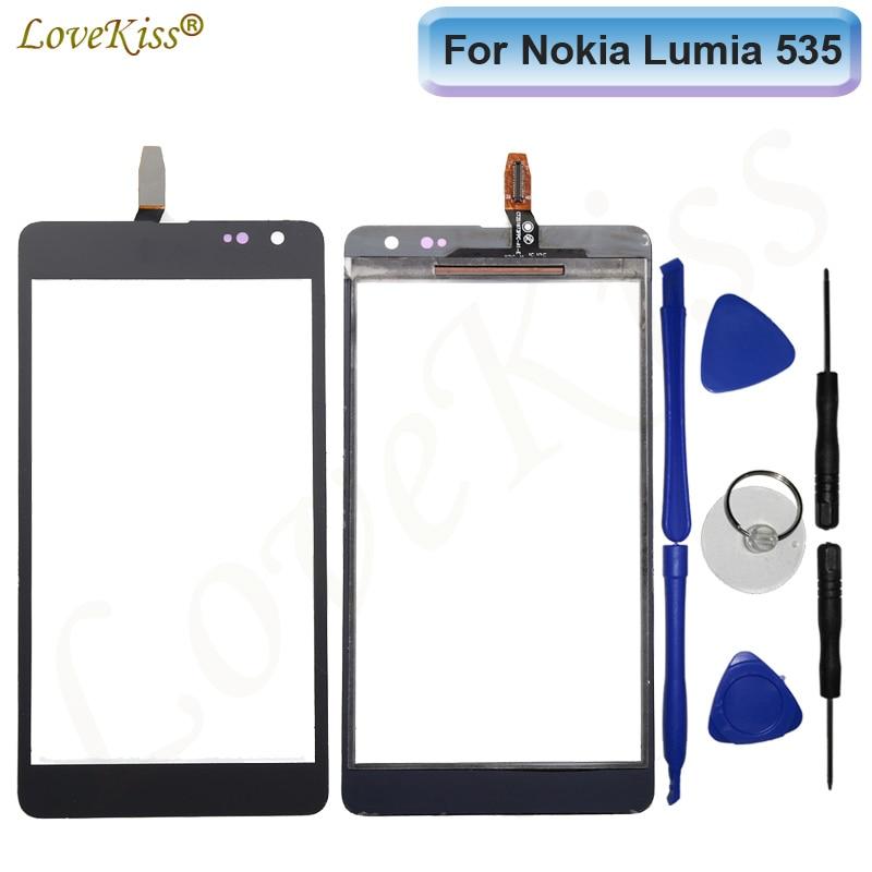 Сенсорный экран для Nokia Microsoft Lumia 535 N535 2S 2C CT2C1607 CT2S1973 сенсорный ЖК-дисплей дигитайзер панель Стекло TP Замена