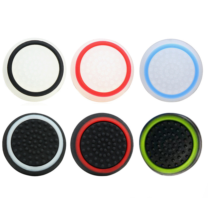 4pcs Silicone Analog Thumb Stick Grips Cover for Xbox 360 One Playstation 4 PS4 Pro Slim PS3 Gamepad Cap Joystick Cap Cove4pcs Silicone Analog Thumb Stick Grips Cover for Xbox 360 One Playstation 4 PS4 Pro Slim PS3 Gamepad Cap Joystick Cap Cove