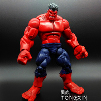 Red Hulk Red Super movable doll Action Figure toy doll car decoration Captain America S135