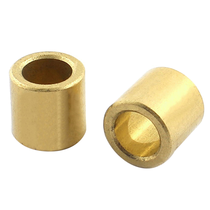 2 Pieces Of Oil-immersed Sintered Bronze Bushing Bearing Sleeve 8x12x12mm
