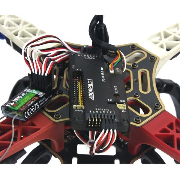 RTF Quadro GPS APM2.8 AT10 TX RX Bateria