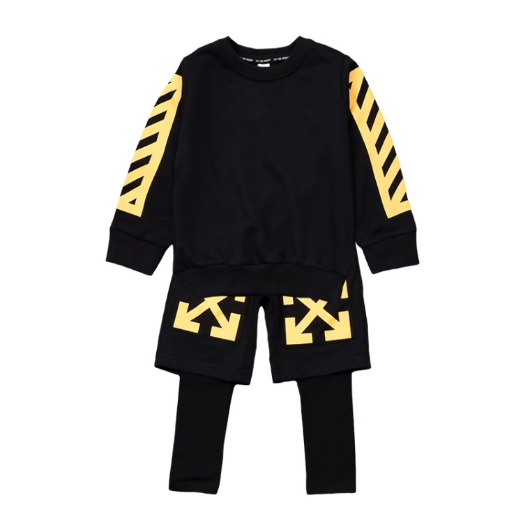 2018 new spring Childrens clothing boys cloth sets long sleeve Korean version cotton set child clothes+pants two pcs sets tide