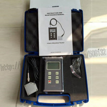 VM-6380 цифровой измеритель вибраций 3-оси пьезоэлектрический акселерометр Сенсор Виброметр VM6380