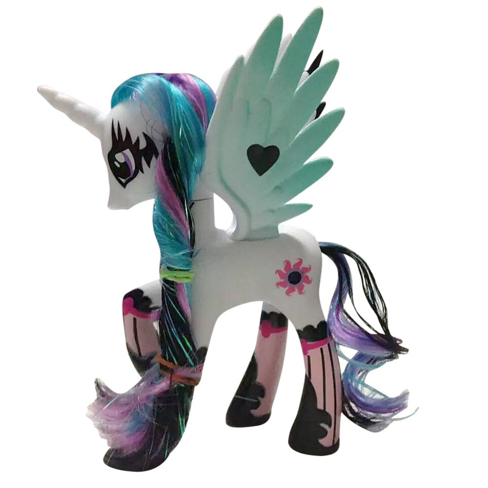 New 14cm Little Horse PVC Action Figure Vinyl Doll Limited Edition Toys Collcetion Model Kids Toys Best Gifts brand new animals action figure toys mother wild horse 12cm length pvc figure model toy for gift collection kids school study